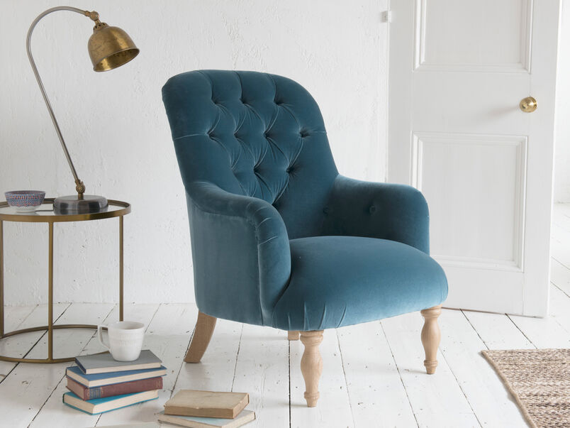 High back Flump occasional armchair