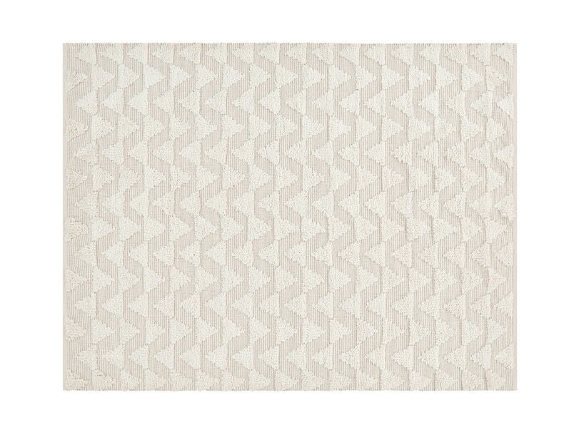 Large Tufty Rug in Natural