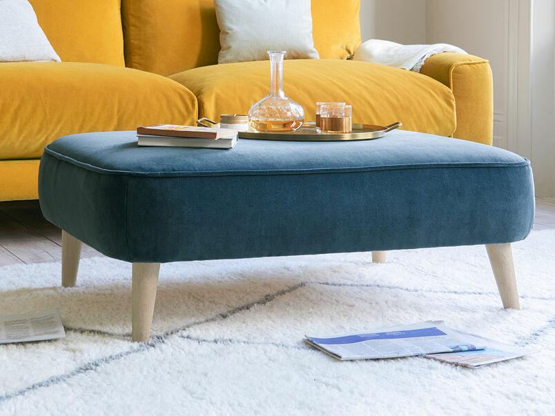 Soapbox small low rectangular footstool
