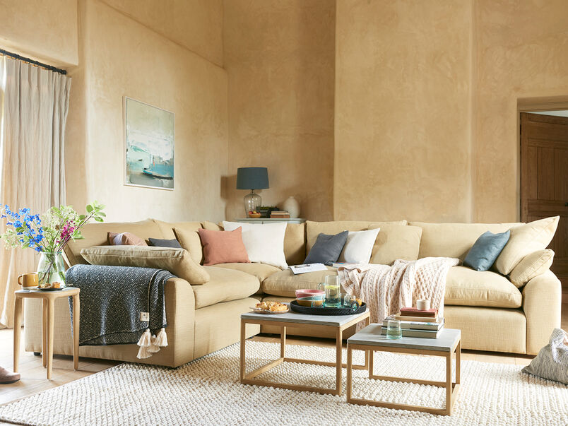 Cuddlemuffin corner sofa