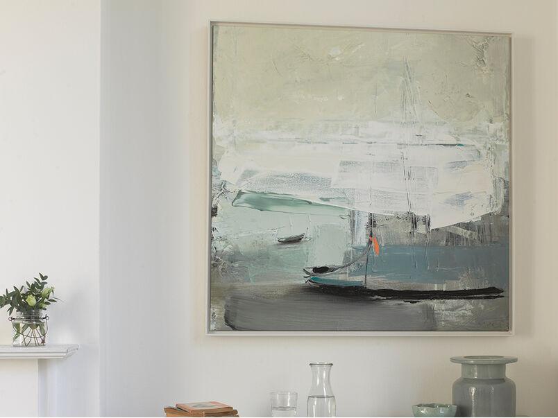 Ben Lowe's Cargo art framed canvas print
