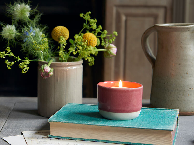 Candle Pot in Jam Sandwich