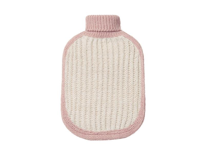 Hottie hot water bottle in Pale Pink
