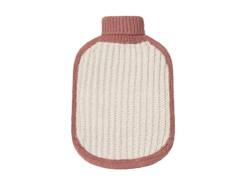 Hottie hot water bottle in Rusted Pink