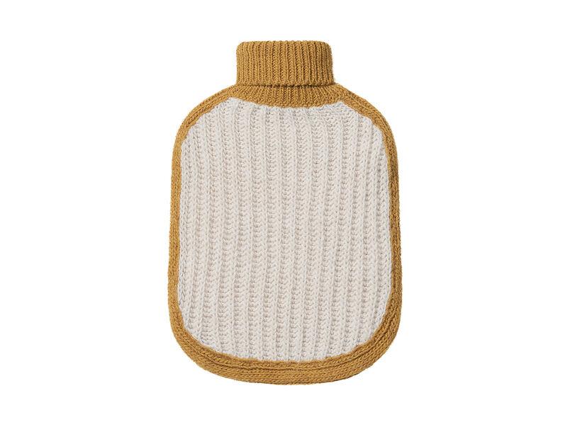 Hottie hot water bottle in Ochre