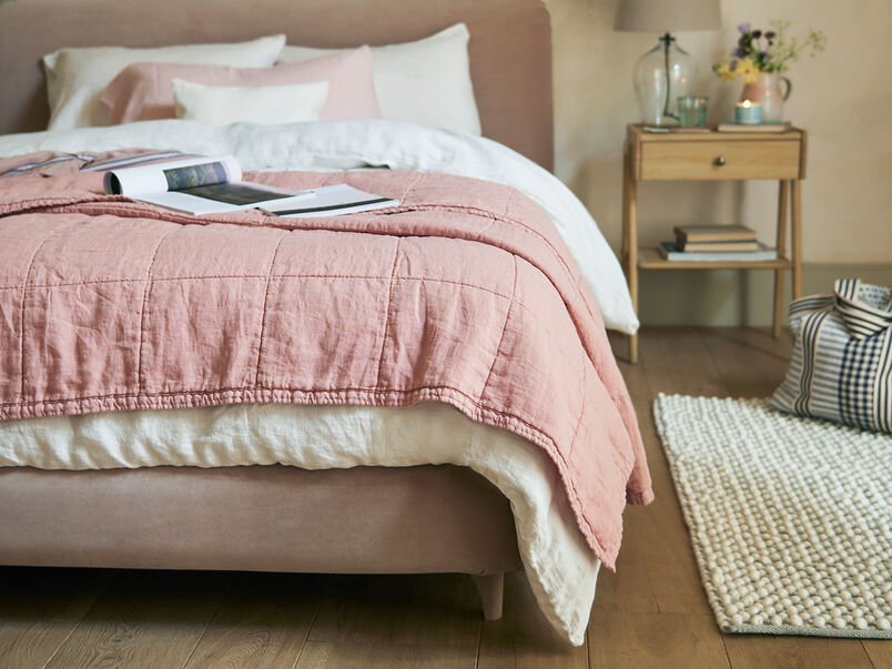 Lazy Quilt in Pottery Pink