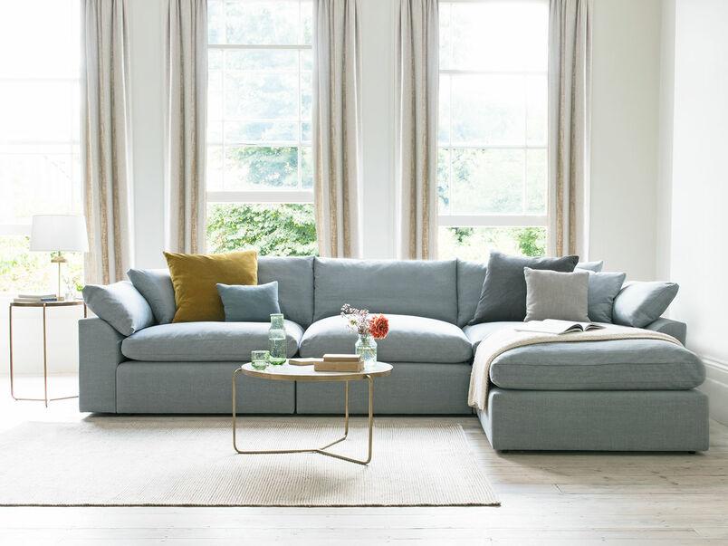 Cuddlemuffin comfy modular chaise sofa