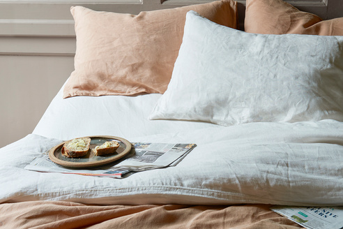 Lazy Linen bedding