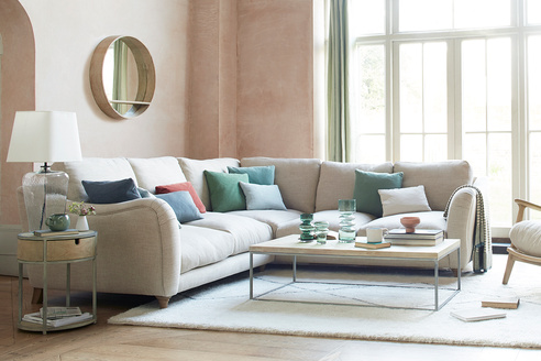 Bumpster Large Modern L Shaped Corner Sofa
