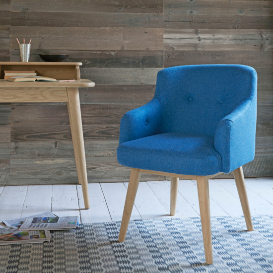 Smudge upholstered office chair