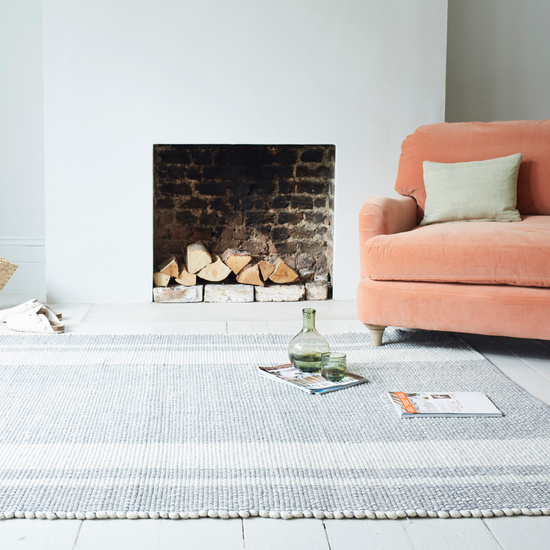Babouche floor rug in Natural colour
