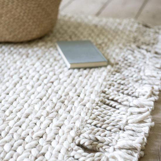 Chunkster chunky woven floor rug