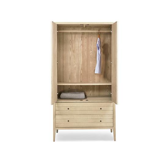 Great Kanoodle wooden oak wardrobe modern