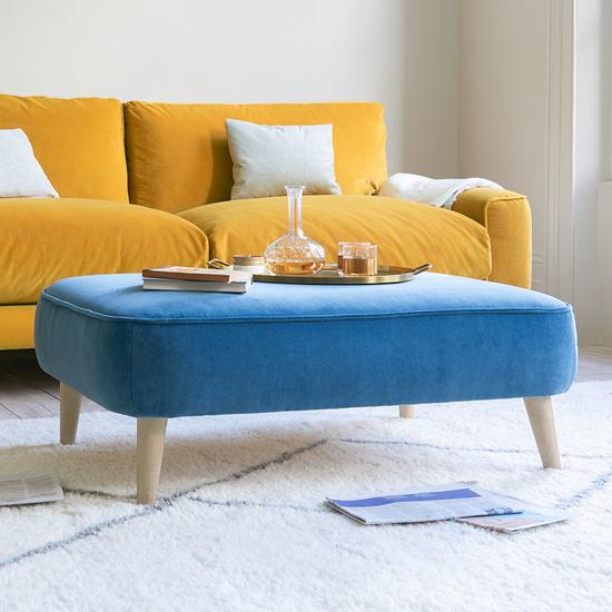 Soapbox small rectangular footstool