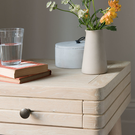 Little Groover tongue and groove side table