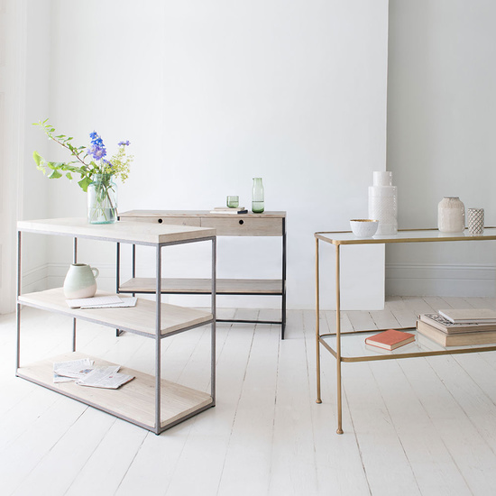 Console table range