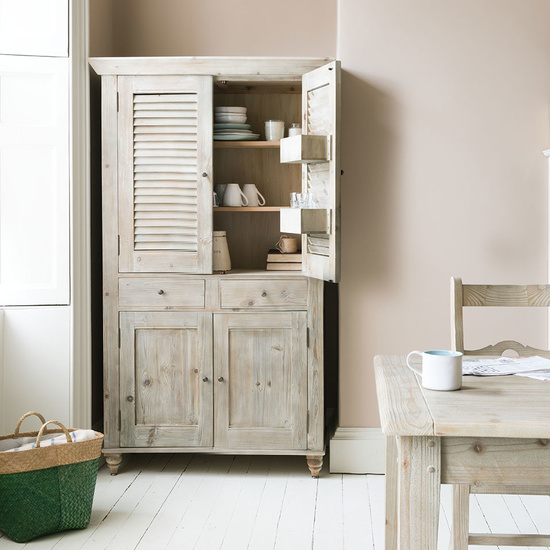 Super Sucre reclaimed wood larder cupboard