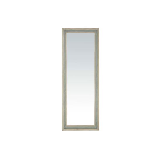Tall Dopple wooden floor length wall mirror