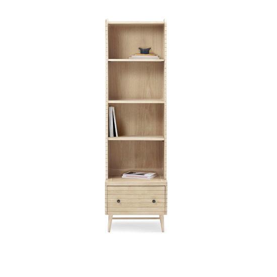 Little Bubba blonde oak wooden shelf