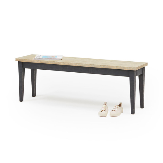 Chittlewag oak bandsawn bench