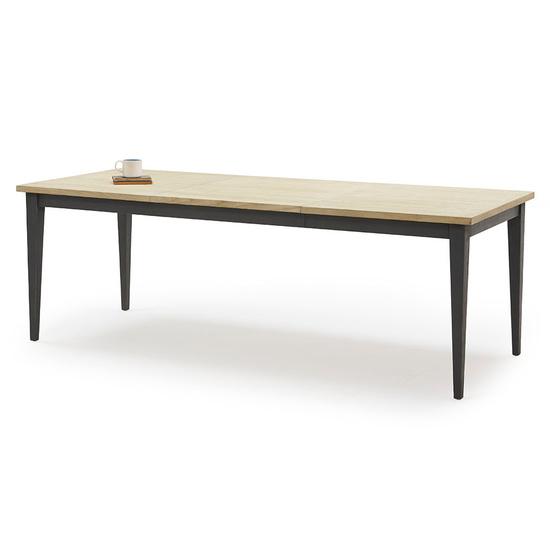 Kernel bandsawn oak extendable kitchen table