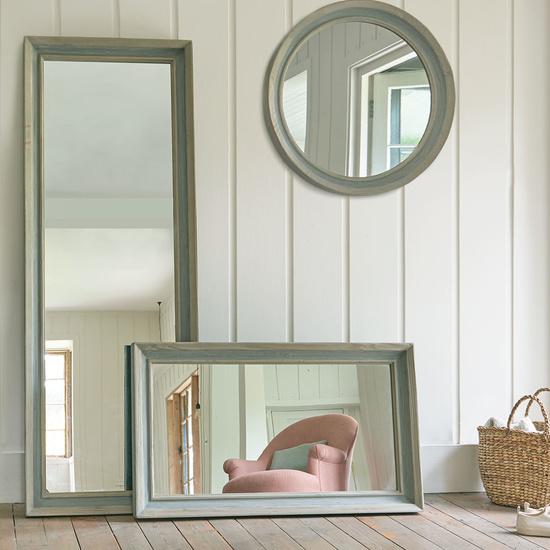Dopple reclaimed wooden mirror range