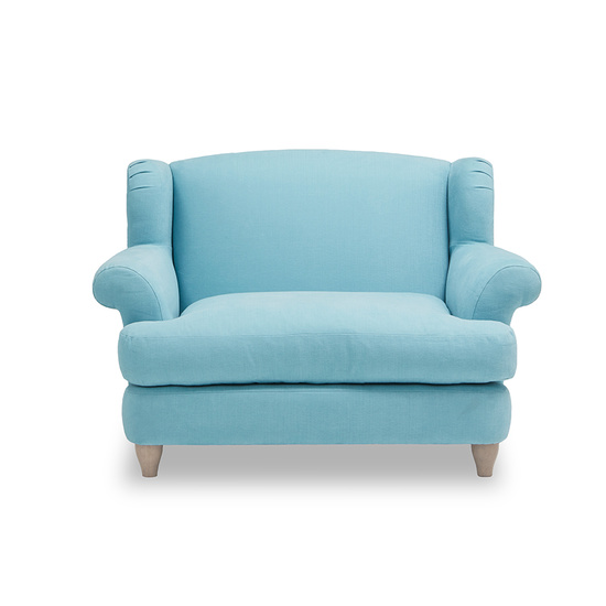 Moon Jumper wingback love seat