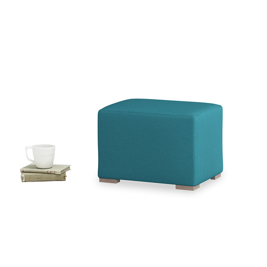 Pow Wow upholstered mini footstool