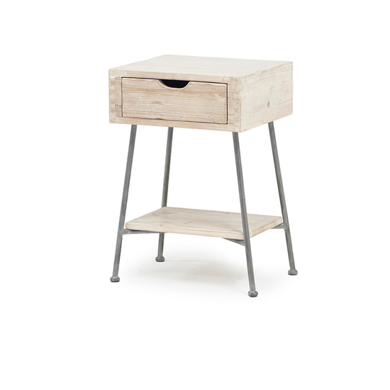 Side Cargo industrial side table