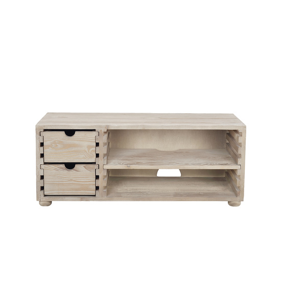 TV Chockabox reclaimed wood TV unit