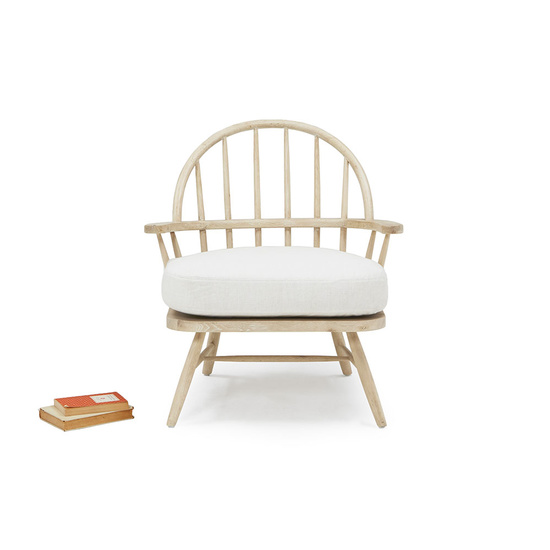 Burbler oak spindle back chair