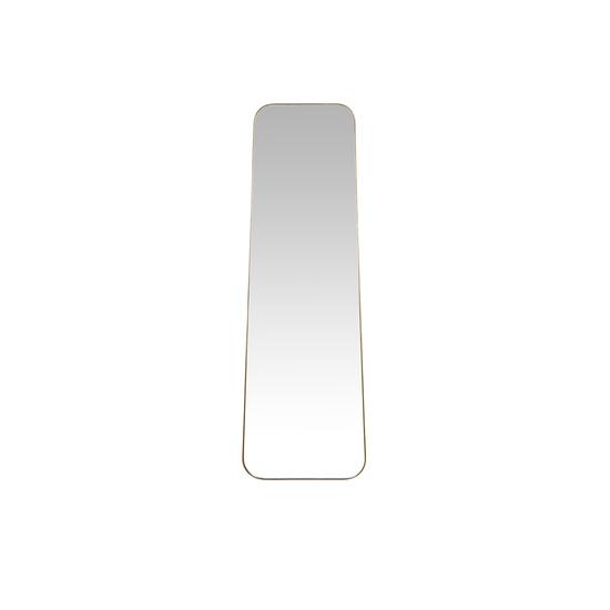 Stella brass frame free standing floor mirror