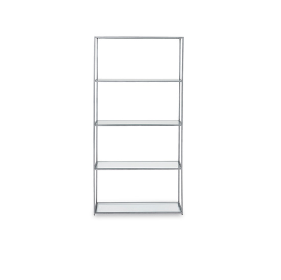 Tall Wolfie glass shelves