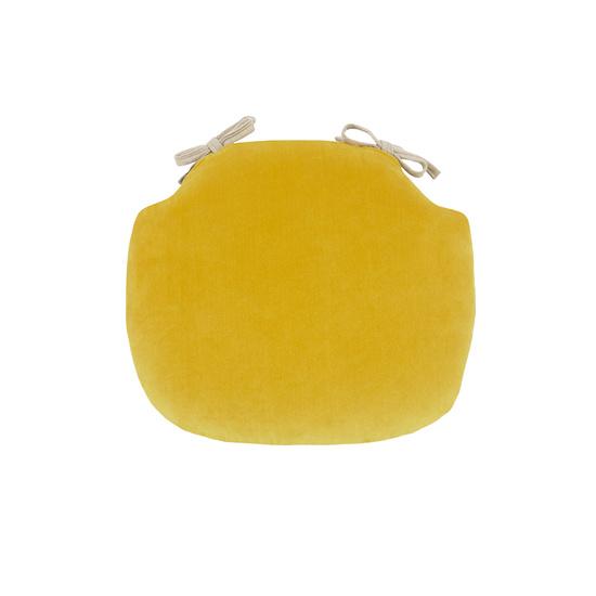 Soft Serve Seat Pad Yellow Velvet