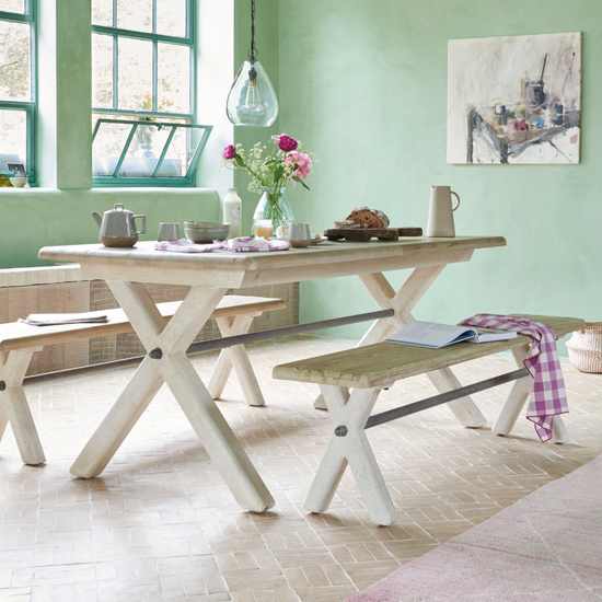 Scoff Wooden Kitchen Bench