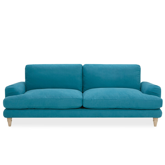 Cinema Deep Upholstered Low Arm Sofa