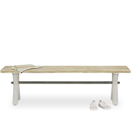 Scoff Handmade Cross Leg Bench
