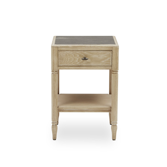 Albertine Bedside Table Front