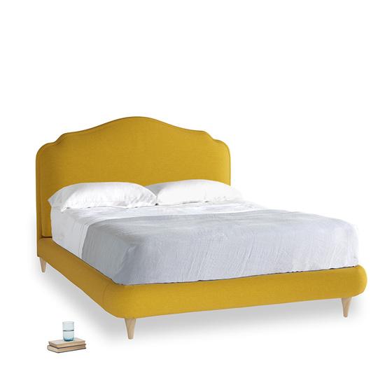 yellow ochre vintage linen Sugar Puff KI