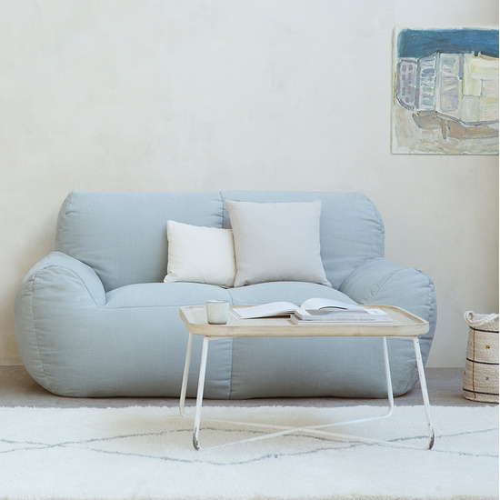 Layabout foam filled frameless floor sofa