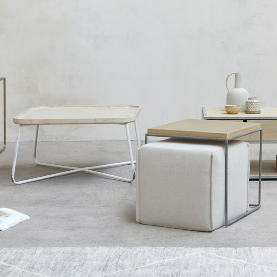 Industrial Coffee Table and Side Table Range