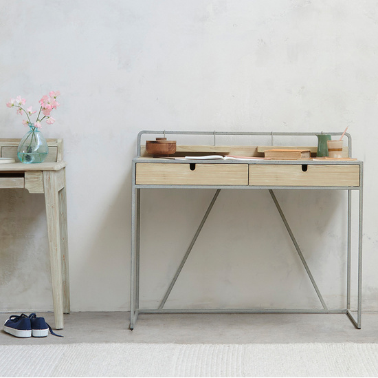 Reclaimed Wood Desk Range