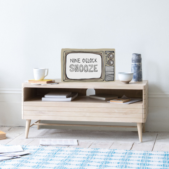TV Bubba wooden storage TV stand