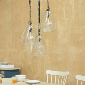 Raindrop Adjustable Hanging Ceiling Light Cluster