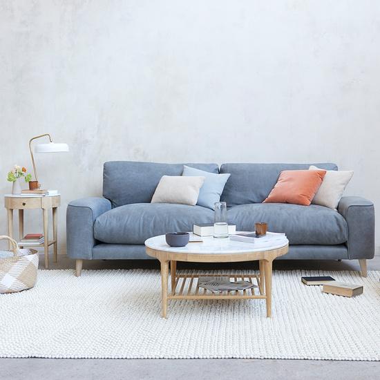 Strudel upholstered sofa