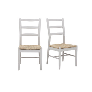Hobnob chairs in pale grey