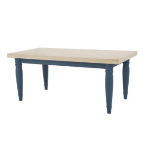 Scullery kitchen table in Heritage Blue