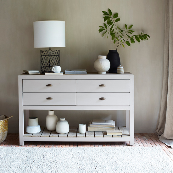 Provender grey painted kitchen sideboard
