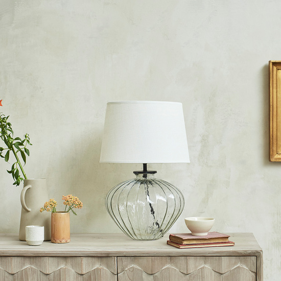 Pumpkin table lamp