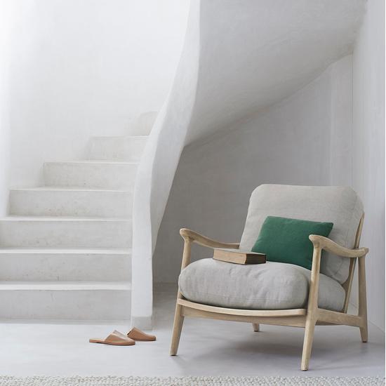 408580 squishbag rattan armchair with cushion